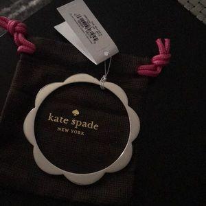 Silver Kate Spade Bangle